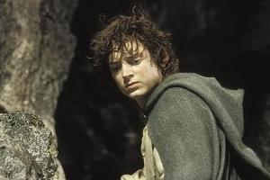 Elijah Wood in una scena de Il signore degli anelli - Il ritorno del re