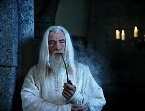 Ian McKellen in una scena di Il signore degli anelli - Il ritorno del re