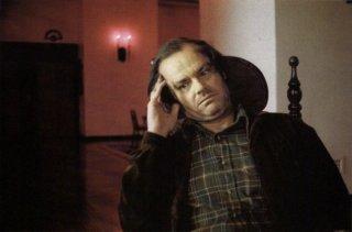 Jack Nicholson in una scena di Shining