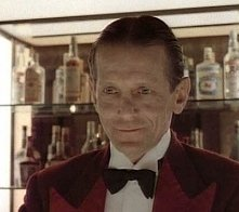 Joe Turkel in una scena di Shining