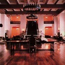 Una delle sale dell'Overlook Hotel nel film Shining