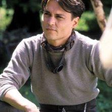 Johnny Depp in una scena di Neverland - un sogno per la vita