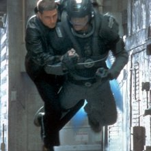 Tom Cruise in una scena di Minority Report