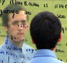 Matteo Rulli in una scena de 'Un silenzio particolare'
