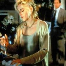Sharon Stone in una scena di Basic Instinct