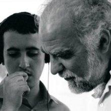 Stefano Rulli insieme a suo figlio Matteo in una scena di Un silenzio particolare