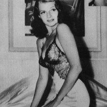 Il poster di Rita Hayworth nella cella di Andy Dufresne
