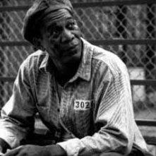 Morgan Freeman in una scena di Le ali della libertà