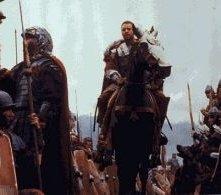Russell Crowe in una scena de Il Gladiatore