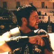 Russell Crowe in una scena di Il Gladiatore