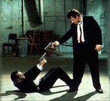 Steve Buscemi e Harvey Keitel in una sequenza di Le Iene