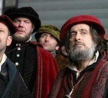 Al Pacino e Allan Corduner in una scena di Il Mercante di Venezia