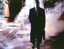 Christian Bale in una scena di American Psycho