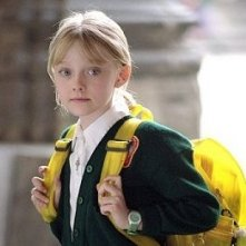Dakota Fanning in una scena di Man on fire