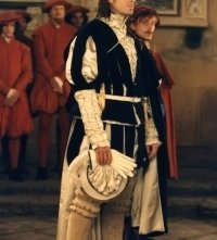 Joseph Fiennes in una scena di Il Mercante di Venezia