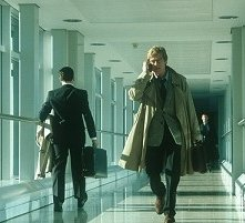 Robert Redford in una scena di Spy Game