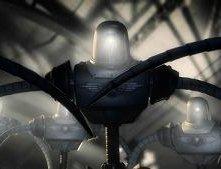 Una scena di Sky Captain and the World of Tomorrow (2004)