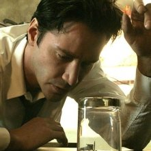 Keanu Reeves è il protagonista del film Constantine