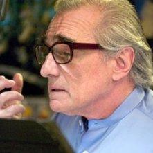 Martin Scorsese in sala doppiaggio per Shark Tale