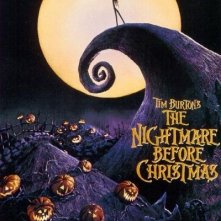 La locandina di Nightmare Before Christmas