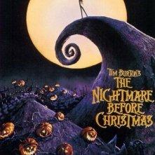La locandina di Nightmare Before Christmas
