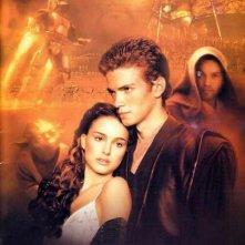 La locandina di Star Wars ep. II - L'attacco dei cloni