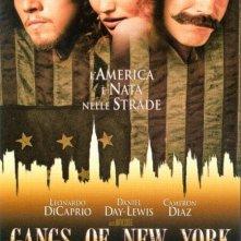 La locandina di Gangs of New York