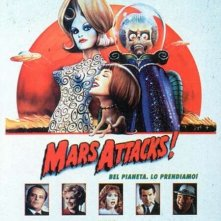 La locandina di Mars Attacks!