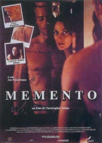 La locandina di Memento
