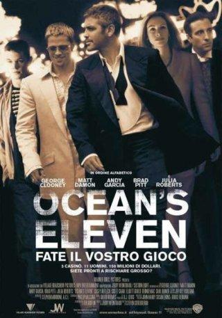 La locandina di Ocean's Eleven