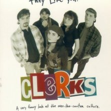 La locandina di Clerks - commessi