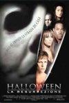 La locandina di Halloween la resurrezione