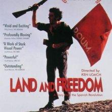 La locandina di Terra e libertà