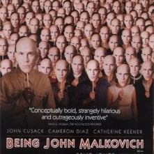 La locandina di Essere John Malkovich