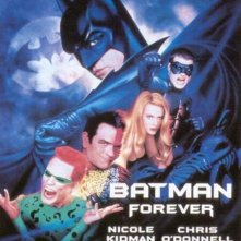 La locandina di Batman forever