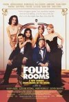 La locandina di Four Rooms