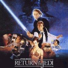 La locandina di Il ritorno dello Jedi