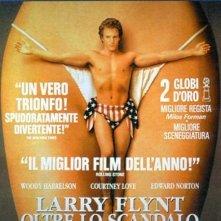 La locandina di Larry Flynt - oltre lo scandalo