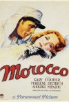 La locandina di Marocco