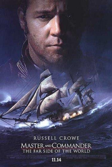 La locandina di Master and Commander: Sfida ai confini del mare