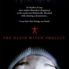 La locandina di The Blair Witch project - Il mistero della strega di Blair