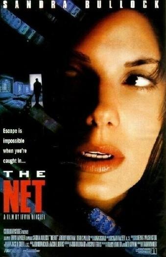 La Locandina Di The Net Intrappolata Nella Rete 8048