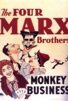 La locandina di Monkey business - quattro folli in alto mare