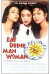 La locandina di Mangiare bere uomo donna