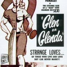 La locandina di Glen o Glenda - Due vite in una