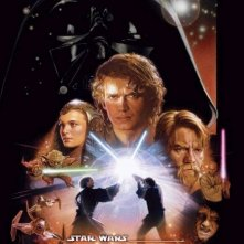 La locandina di Star Wars ep. III - La vendetta dei Sith