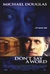 La locandina di Don't Say a Word