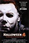 La locandina di Halloween 4 - Il ritorno di Michael Myers
