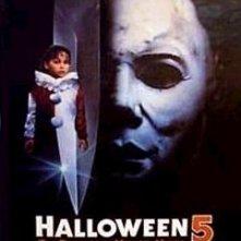 La locandina di Halloween 5 - The Revenge of Michael Myers