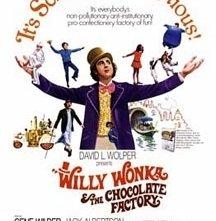 La locandina di Willy Wonka e la fabbrica di cioccolato